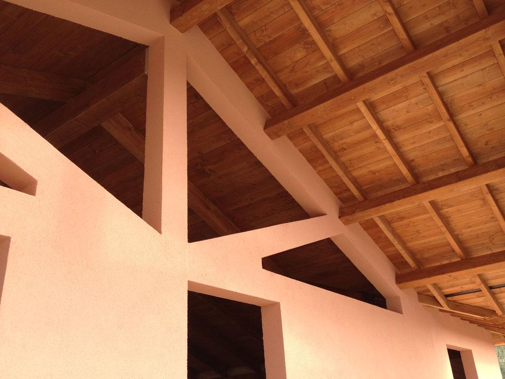 struttura in legno ecocompatibile casafutura laika bioedilizia prefabbricata efficiente risparmio energetico legno