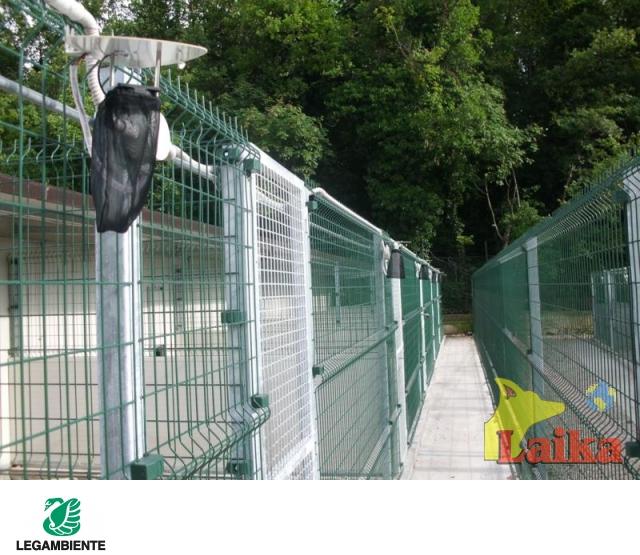 Laika progettazione produzione e vendita di canili box for Giardino e cani