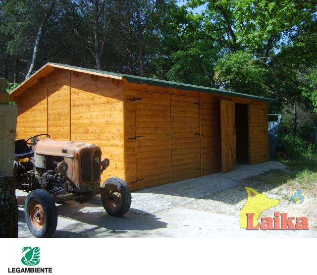 Laika progettazione produzione e vendita di canili box for Vendita case in legno prefabbricate