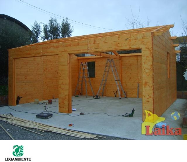 Laika progettazione produzione e vendita di canili box for Due progetti di garage per auto