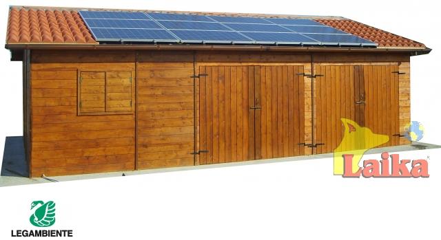 Laika progettazione produzione e vendita di canili box for Tre kit di garage per auto