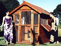 Box e cucce per cani in legno