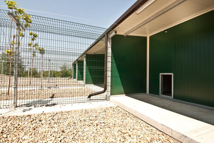box cani dog shelter bound prefabbricati canile Laika ing leonardo spacone progetto canile