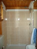 foto interno bagno struttura in legno prefabbricata laika